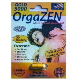 OrgaZEN Gold 5000 Male Sexual Stimulant Pill