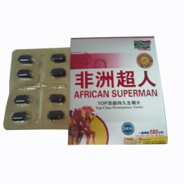 African Superman male enhancement pills